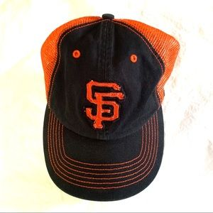 💎4/$24 SF Giants vintage style soft stretch hat